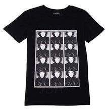 Load image into Gallery viewer, Black Wanted John T-Shirt