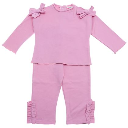 Le Bebe Sale Pink Top & Legging Set