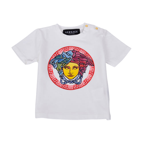 Ivory & Red Medusa T-Shirt