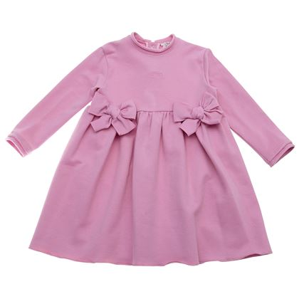 Le Bebe Sale Pink Bow Dress