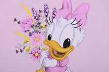 Load image into Gallery viewer, Pink Daisy Duck T-Shirt