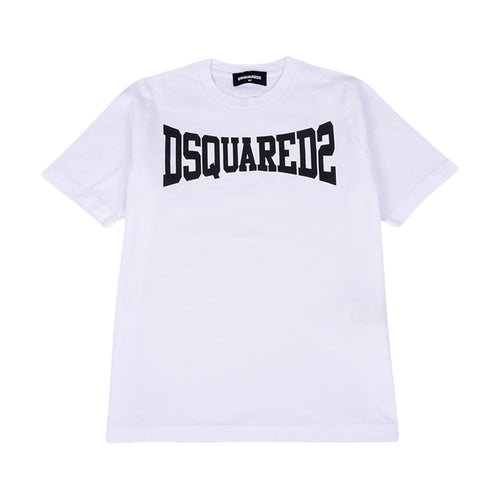 White DSQUARED2 Logo T-Shirt
