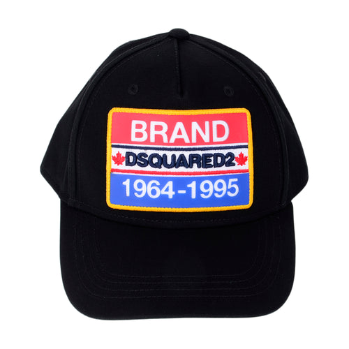 Black BRAND Badge Cap