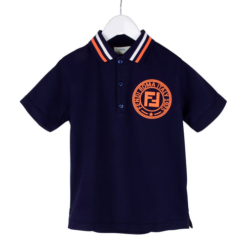 Navy & Orange FF Polo Shirt