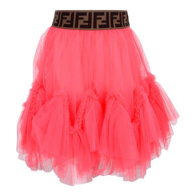 Pink Tulle FF Skirt