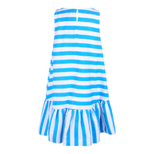 Load image into Gallery viewer, Blue & White Stripe Dress