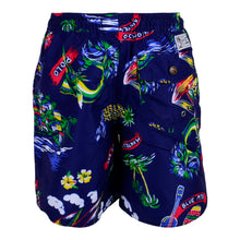 Load image into Gallery viewer, Navy Island Swim Shorts