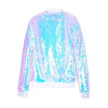 Load image into Gallery viewer, Sequin Zip Up Jacket