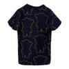 Navy Manga Bear Logo T-Shirt