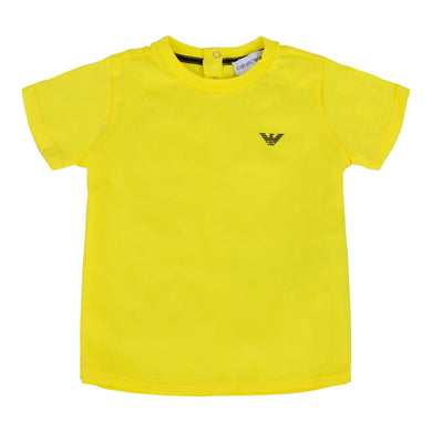 Yellow Crew Neck T-Shirt