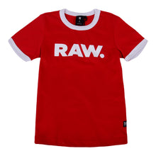Load image into Gallery viewer, Red 'RAW' T-Shirt
