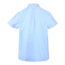 "Load image into Gallery viewer, Blue ""Archive Oxford"" Boys Shirt"