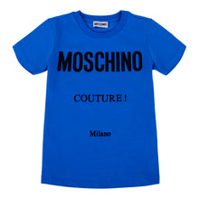 Load image into Gallery viewer, Blue Moschino Couture T-Shirt
