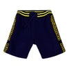 Navy & Yellow Sweat Shorts
