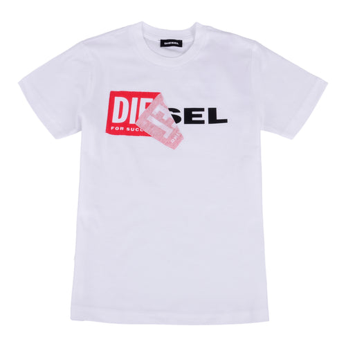 White Peel Logo T-Shirt
