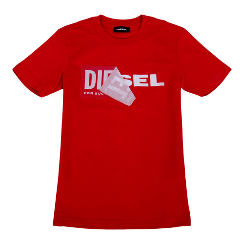 Red Peel Logo T-Shirt