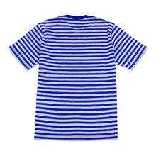 Load image into Gallery viewer, Blue & White Striped T-shirt