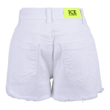 Load image into Gallery viewer, Girls White Denim Shorts