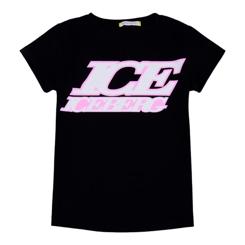 Girls Black Logo T-Shirt