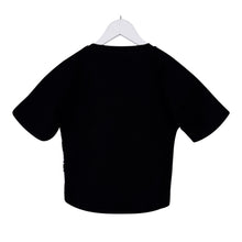 Load image into Gallery viewer, Black Reversible Sequin T-Shirt