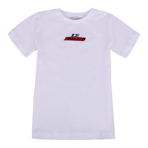 Boys White Logo T-Shirt
