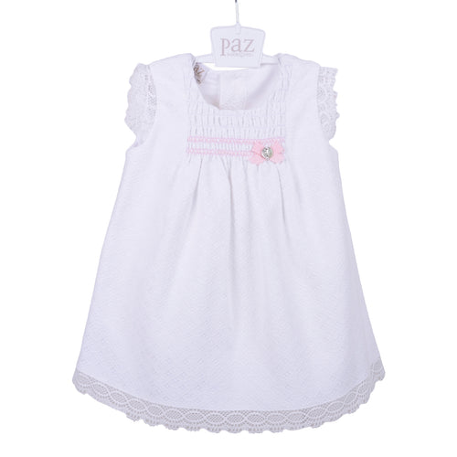 White Laced Baby Dress