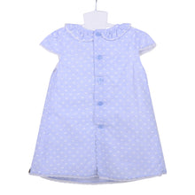 Load image into Gallery viewer, Sky Blue Cotton Dress