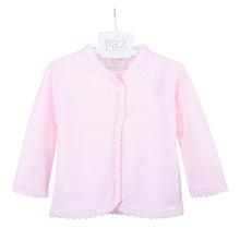 Load image into Gallery viewer, Pink Knitted Cardigan