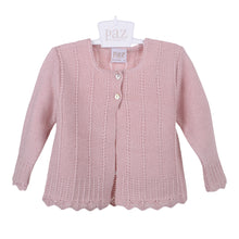 Load image into Gallery viewer, Dusky Pink Knitted Cardigan