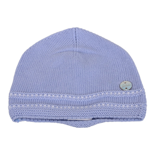 Blue Cloud Knitted Hat