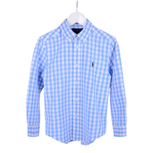 Load image into Gallery viewer, Blue Gingham Shirt