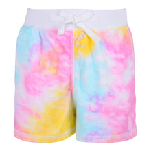 Load image into Gallery viewer, Tie Dye Zip Up Shorts Set