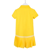 Load image into Gallery viewer, Yellow Polo Dress