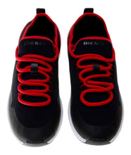 Load image into Gallery viewer, Black & Red Trainers