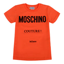 Load image into Gallery viewer, Moschino Orange Moschino Couture T-Shirt