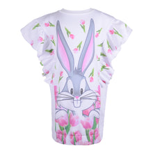 Load image into Gallery viewer, White Bugs Bunny Sweat Dress