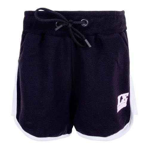 Girls Black Sweat Shorts
