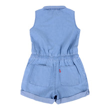 Load image into Gallery viewer, Blue Chambray Playsuit