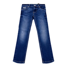 Load image into Gallery viewer, Denim Blue Skinny Fit Jeans