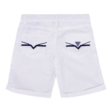 Load image into Gallery viewer, White Poplin Shorts