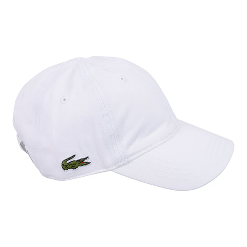 White Crocodile Logo Hat