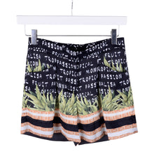 Load image into Gallery viewer, Black Tropical Shorts