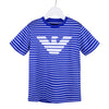Blue & White Stripe T-Shirt