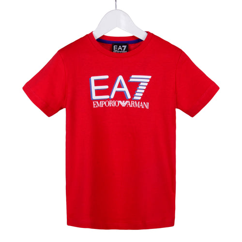 Red EA7 T-Shirt