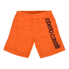 Load image into Gallery viewer, Roberto Cavalli Baby Boys Orange Sweat Shorts