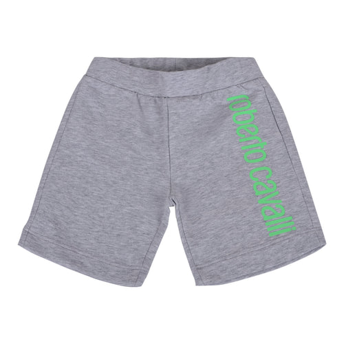 Roberto Cavalli Baby Boys Grey Sweat Shorts