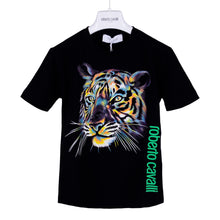 Load image into Gallery viewer, Roberto Cavalli Boys Black Tiger T-Shirt