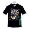 Roberto Cavalli Boys Black Tiger T-Shirt