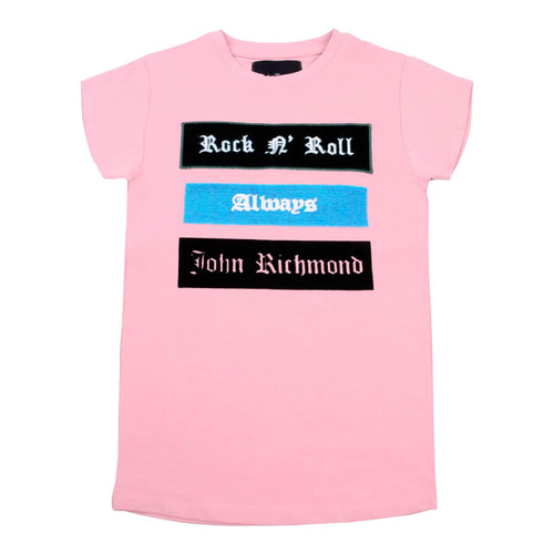 Pink 'Rock & Roll' T-Shirt