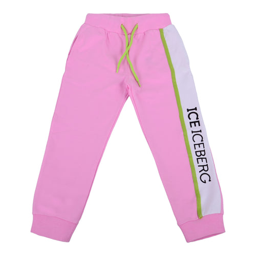 Pink Logo Sweat Bottoms